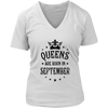 Queens are born in September Crown Woman T-Shirt