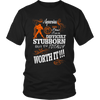 Aquarius Difficult Stubborn But Totally Worth It T-Shirt