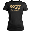 Copy CTRL + C Father's Day Mother's Day Gifts T-Shirt