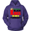 Strong Black Kings Are Born In February Birthday Shirt