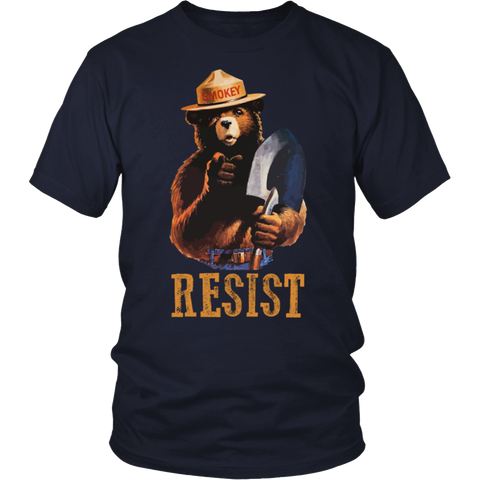 Resist Smokey T Shirt