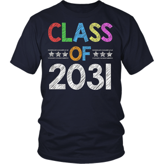 Class of 2031 T-Shirt - Future Kindergarten Graduates Shirt