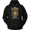 Never Underestimate A Chef Born As Virgo T-shirt Hoodie
