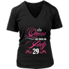 Queens Are Born On July 29 Birthday Gift T-shirts