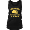 I'm Into Fitness, Fitness Taco In My Mouth Tshirt, Funny Gym