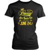 Princesses Are Born On June 24 Tshirt
