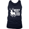 Best Buckin' Dad Ever Shirt for Deer Hunting Fathers Gift
