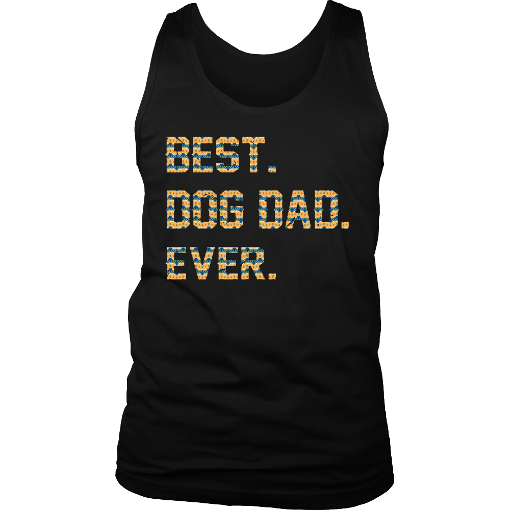 Best Dog Dad Ever Father's day Best gift for papa T-shirt