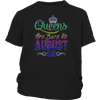 Queens Are Born On August 03 Birthday TShirt