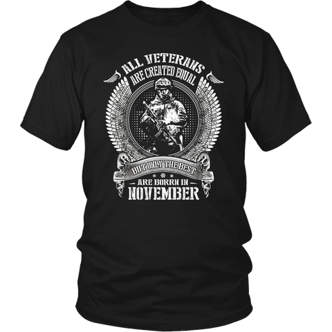 Best gift for daddy - The Best Are Born In November T-shirt