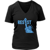 Resist and USA Flag - Distressed T-Shirt