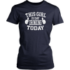 Women's This Girl Is Day Drinking Today T-shirt