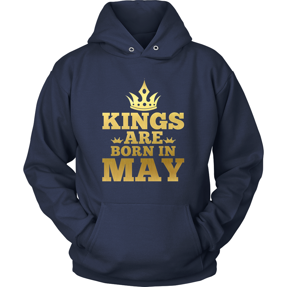 Birthday Gift Kings are born in May T-shirt