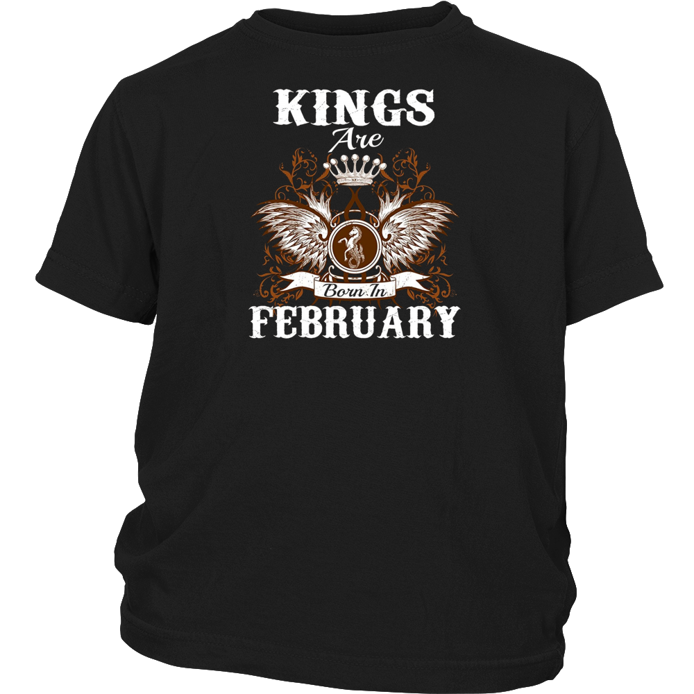 Kings Are Born In February T-Shirt