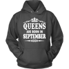 Women's Queens Are Born In September T-shirt