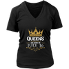 Queens Are Born On July 16 - Birthday T-Shirt