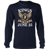 Kings Are Born On June 25