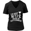 THE BEST WIFE BORN IN SEPTEMBER T SHIRT