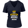 Princess Are Born In March T-Shirt