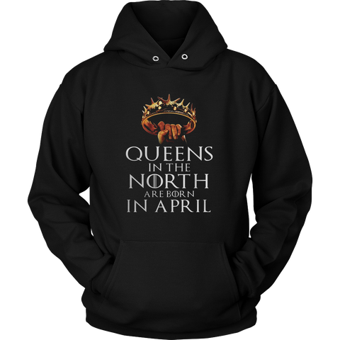 QUEENS IN THE NORTH ARE BORN IN APRIL