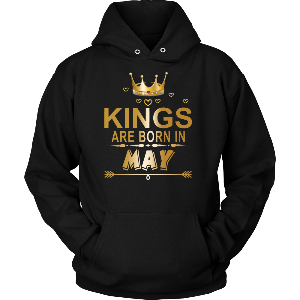 KINGS ARE BORN IN MAY SHIRT - Best Gift For May Birthday
