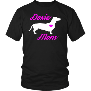 Dachshund T-Shirt - Doxie Mom Mother's Day Wiener Dog Shirt