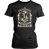 Awesome AQUARIUS MEN T-Shirt