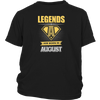 Legends Are Born In August T-shirt