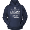 January Birthday - Legends are Born in January