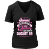 Queens Are Born In August But The Real Queens Are Born On August 29 TShirt
