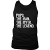 Mens Pops The Man The Myth The Legend T-Shirt