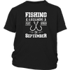 FISHING LEGENDS ARE BORN IN SEPTEMBER