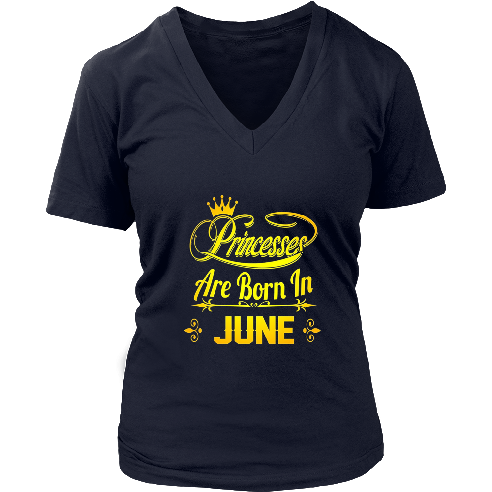 Princesses Are Born In June shirt