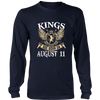 KINGS ARE BORN ON AUGUST 11