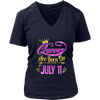 Queens Are Born On July 11 shirt