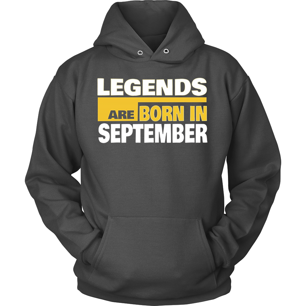 September Shirt - Legend Are Born in September T-shirt