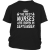 THE BEST NURSES ARE BORN IN SEPTEMBER Product SKU: 338719123