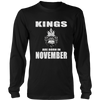 Men's Kings Are Born In November T-shirt