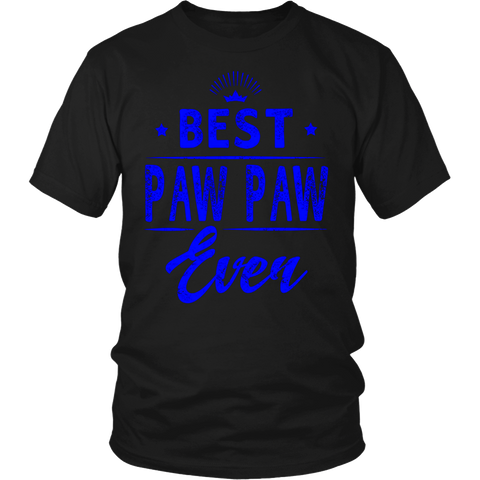 Best Paw Paw Ever Grandpa Father's Day Gifts Men's T-shirt