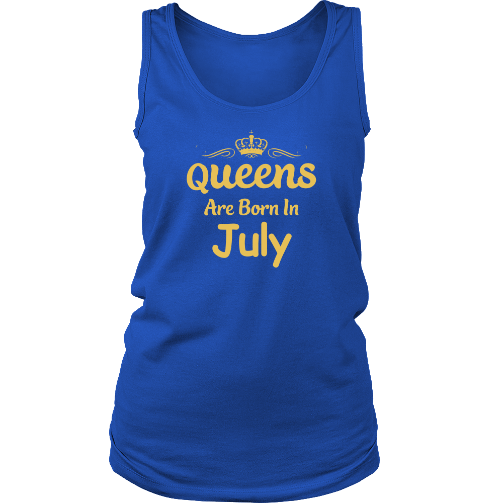 Queens Are Born in July Birthday Gift Shirt Ideas 2017