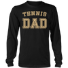 Tennis Dad High School Team Sport Father T Shirt Cute Gift