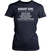August Girl Hated By Many T-Shirt