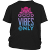 Good Vibes Only Gnarly Surfer T shirt