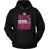 Queens Are Born In February T-Shirt