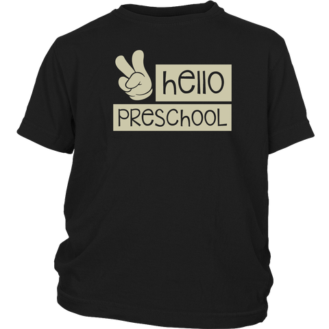 First Day of Preschool Shirt , Back to school Shirt