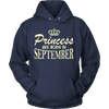 Birthday Gift Princess Are Born In September Shirt