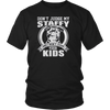 Don't Judge My Staffy and I Won't Judge Your Kids T Shirt