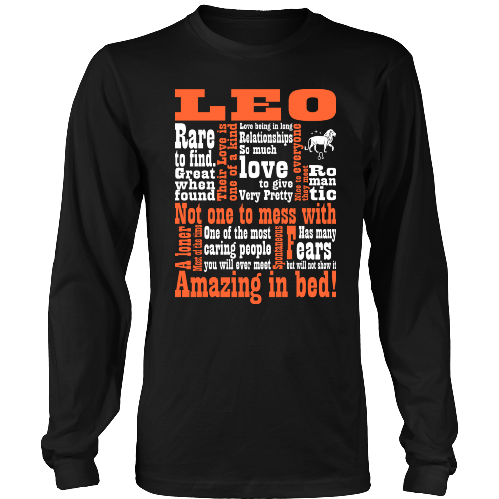 Leo Amazing In Bed T-Shirt