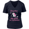 Best Unicorns are Born in September Shirt