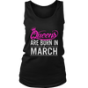 Queen Are Born in March Birthday Gift Shirt Ideas 2017